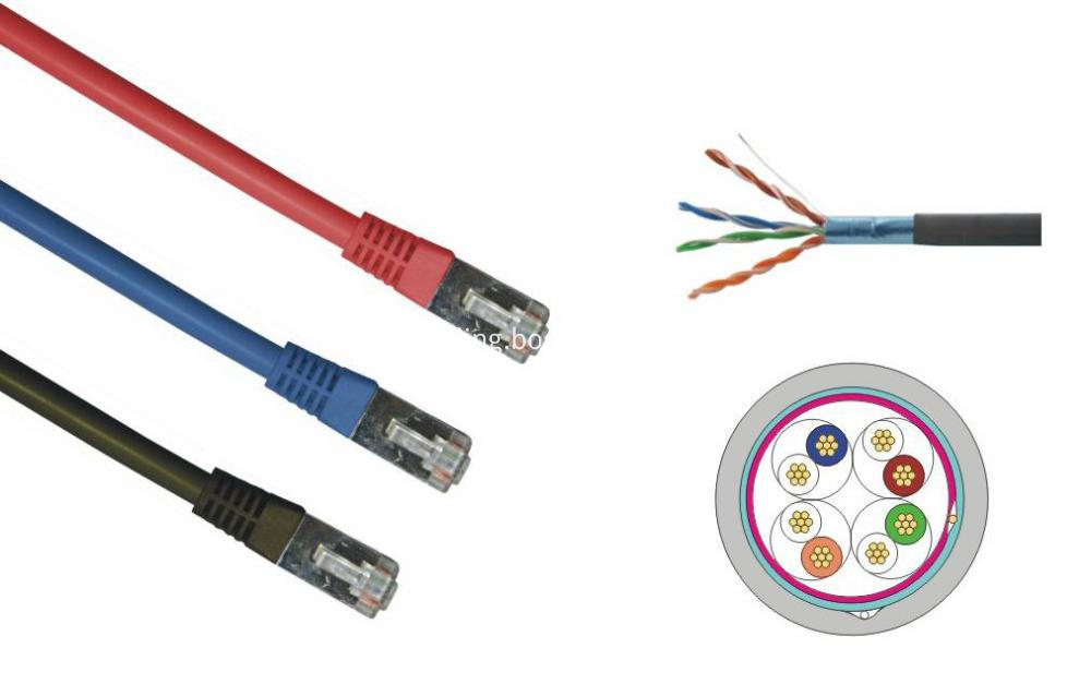 cat5e ftp patch cord stru