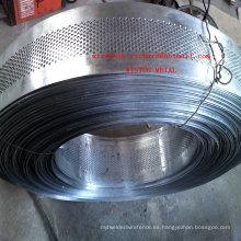 Hoja de metal perforada galvanizada / malla galvanizada del agujero de perforación / malla de alambre perforada galvanizada