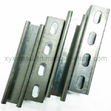 Hot Dipped Galvanized C U Steel Profile Slotted Strut Channel