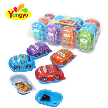 Racing Pull Back Car Toy With Chocolate Biscuits