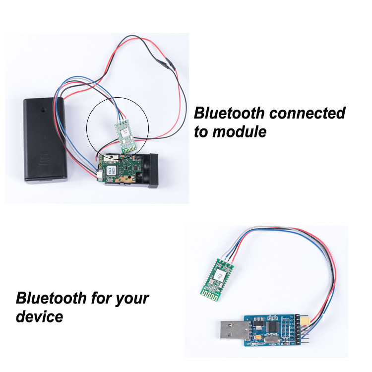 bluetooth laser distance sensor