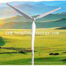20KW turbina gerador eólico na grade / desligar o sistema de grade para venda