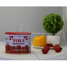 2200 g de pasta de tomate en precio de comida enlatada