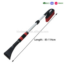 telescopic snow brush/snow brush for car cleaning,snow pusher/snow cleaner