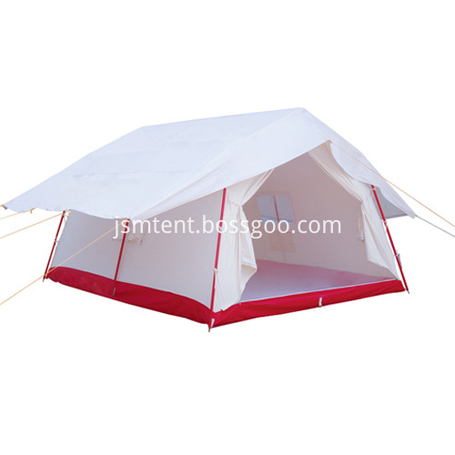 Waterproof disaster relief tent
