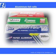Colored foil rolls