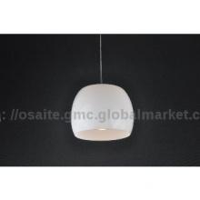 New decorative white modern white glasspendantlamp