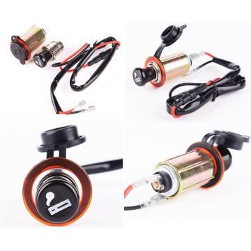 Motorcycle Waterproof Cigarette Lighter Socket/Outlet/ USB Charger Socketjack