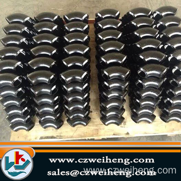 Alloy Steel Butt Weld Fittings / Long 90 Deg