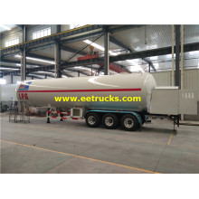 60000l LPG Delivery Trailer Tanks