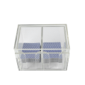 2-Compartment Acrylic Blackjack Discard Box