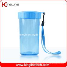 Couvercle en plastique double couche de 300 ml (KL-5018)