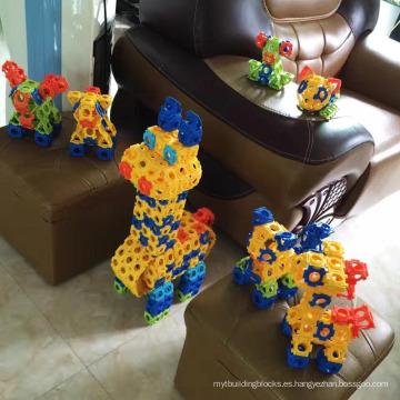 ABS bloques juguetes educativos 30PCS bloques de ladrillo 3D Building Block (10274044)