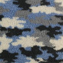 75% poliéster 25% acrílico de tejido de lana multicolor impreso