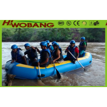 10 pessoa barco inflável, barco de Rafting, bote