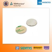 Imán de neodimio N42 adhesivo D25 * 2 mm
