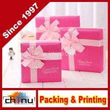 Caja de regalo de papel / caja de embalaje de papel (110243)