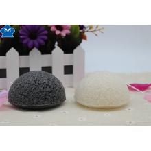 100% Natural Activado carbón de leña Konjac esponja para el cuidado de la piel