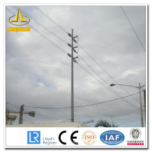 Electrical Transmission Line Distribution Steel Pole