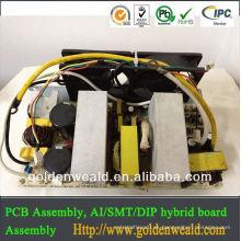 montaje de prototipo de pcb Montaje de circuito electrónico para controlador de potencia