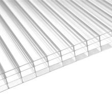 Hoja de policarbonato de múltiples capas Hoja de 4 paredes Fabricante