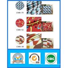 Venda quente Mil Projetos de Stock 100% Algodão Impresso Lona Tecido Peso 165GSM Largura 150 cm
