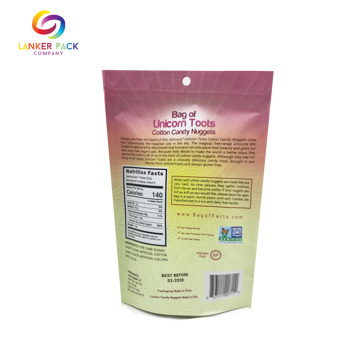 Gelamineerde Plastic Resealable Ziplock Snack Packaging Bags