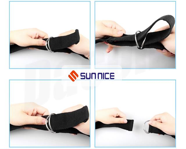 yoga strap stretch