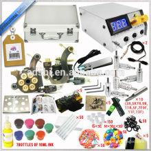 Fabrik direkt verkaufen tragbare und praktische neu gelistete professionelle Qualität Tattoo Maschine Kit, Rotary Machine Tattoo Ki