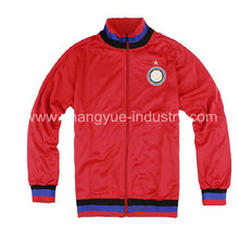 new style soccer tracksuit and jackets of customized design