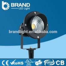 Aluminio AC85-265V IP65 7W COB LED Spike Luz, CE RoHS
