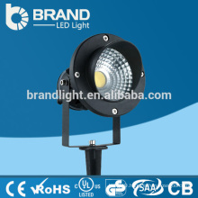Aluminum AC85-265V IP65 7W COB LED Spike Light,CE RoHS