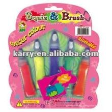 squiz & щетка цвета воды(кисти, крышки, упаковка карта)