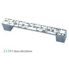 Poignée d'armoire de meuble en alliage de zinc (21301)