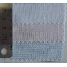 Quadratische Kontrollen Muster Baumwollstoff Dobby Shirt
