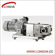 Pompe à lèche rotative en acier inoxydable sanitaire