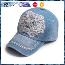 Fábrica de venda direta de longa duração cap cowboy plana feita na china