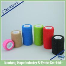 atadura elástica colorida adesiva do crepe