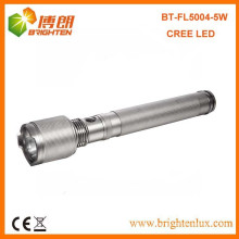 Factory Supply CE Approved Outdoor Best Emergency Usage XPG 5W Cree led Power Style Flashlight With 3D Battery