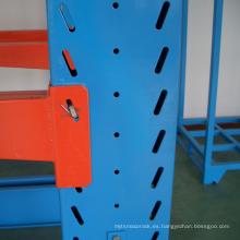estante de brazo de acero vendedor caliente solo del lado / estante de madera resistente del certificado de ISO