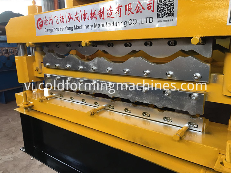 double layer roll forming machine 14