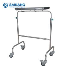 SKH038-1 Stainless Steel Multi-Purpose Hospital Nursing Instrument Trolley