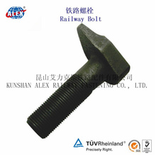 Odd Shaped Rail Bolt with Plain Oiled Made in China