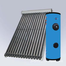24 Tubes Solar thermal System with Heat Pipe and Boiler