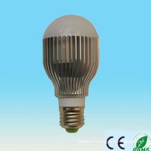 5w 7w 9w 12w E27 B22 E26 ampoule à LED, ampoule à LED haute puissance, 7 types de couleurs disponibles ampoule led avec CE RoHs
