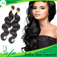 7A Grade Unprocessed Brazilian Remy Hair Virgin Human Hair Weft