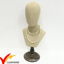 Vente en gros à la main Rétro Vintage Mannequin Head Stand