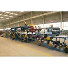 Finding continuous automatic pu sandwich foam rolling machine with ce certification