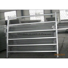 Galvanized Oval Steel Panel Farm Fence