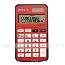 10 dígitos Mini calculadora de bolsillo del tamaño de la energía dual con diversos colores opcionales (LC360A)